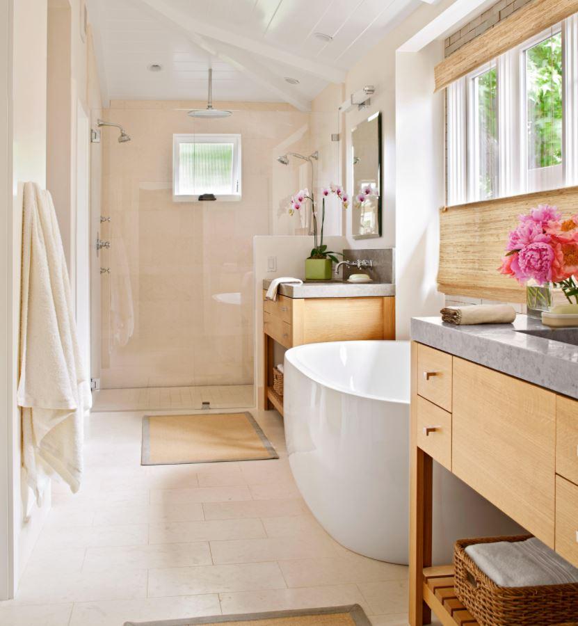 plato de ducha y bañera juntos