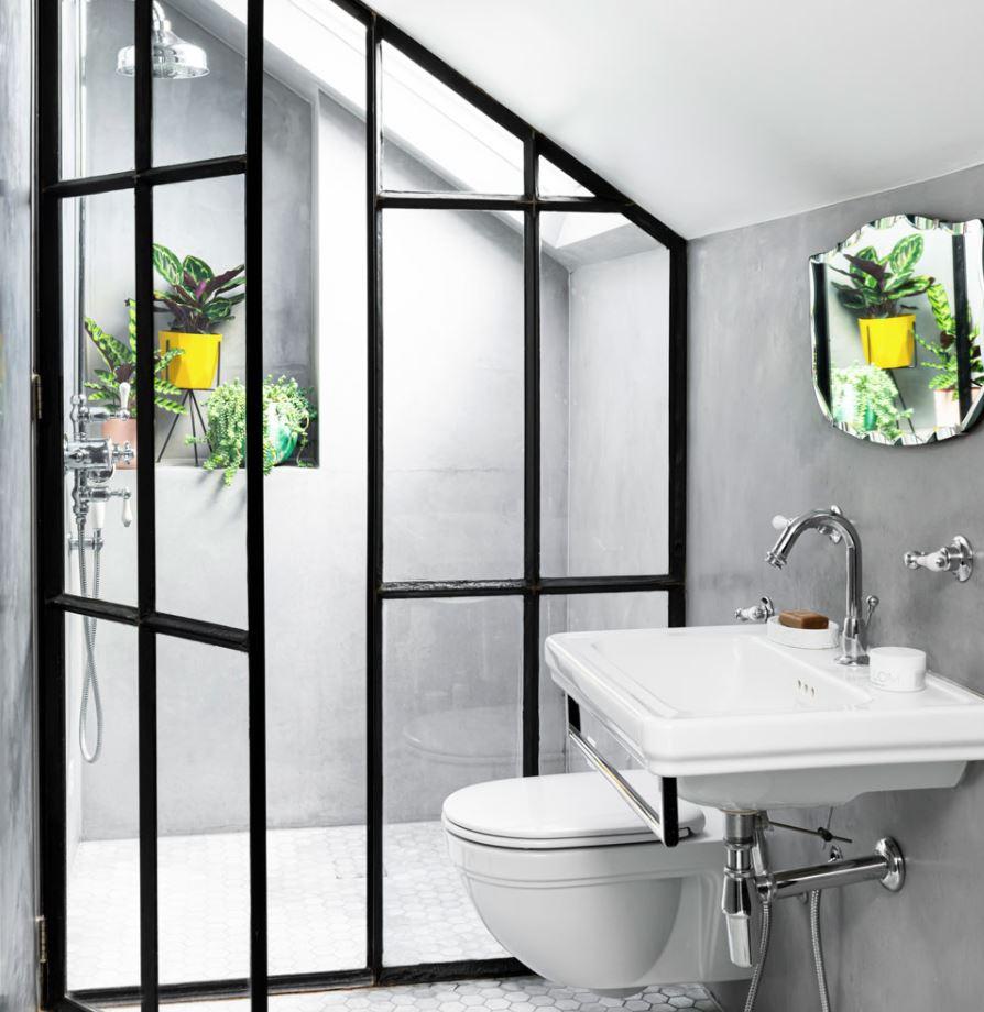 platos de ducha integrados baño