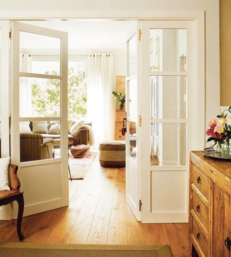 puertas acristaladas para salon