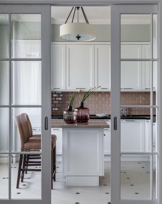 puertas correderas cocina de madera