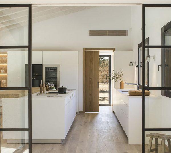 puertas correderas para cocinas grandes