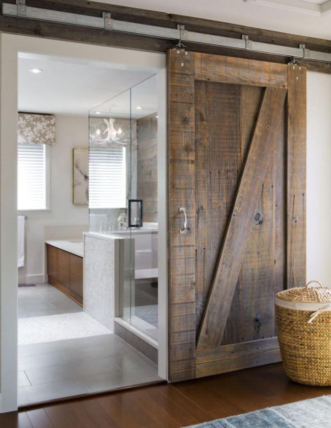 puertas rusticas correderas madera