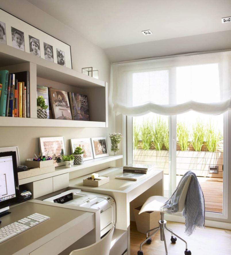 tener un despacho en casa