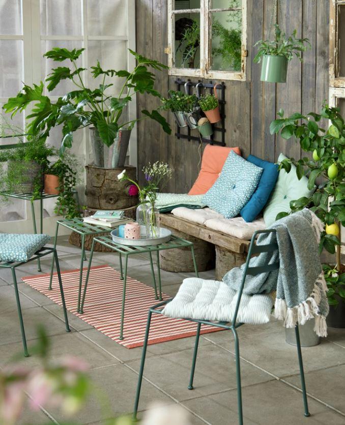 terrazas pequeñas decoracion plantas