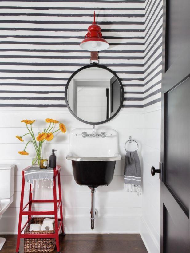 vinilos para espejos de baño